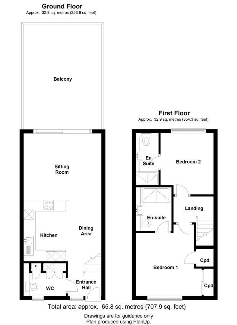 Floor plan 11 Flamsteed Close, Rustat Road, Cambridge